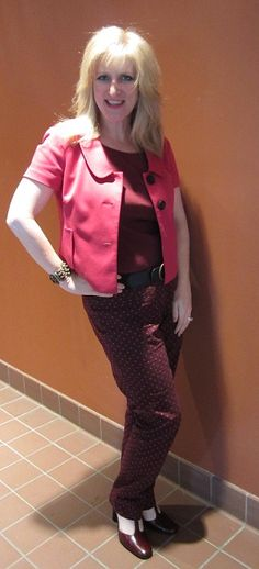 OxBlood Trend! Outfits Modeled by Women over 45
