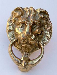 1950s Brass Door Knocker Vintage Door Knocker by BiminiCricket, $55.00