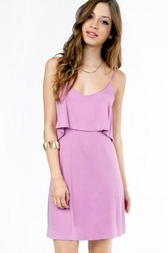Pippa Tiered Dress $44 at www.tobi.com