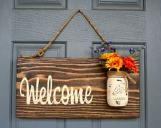 Outdoor Signs Home Decor Wooden Signs Rustic Signs by RedRoanSigns