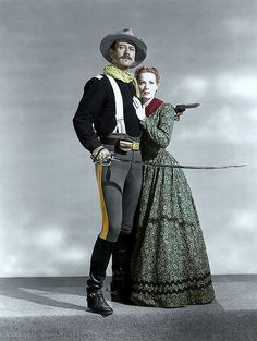 John Wayne & Maureen O'Hara - Rio Grande (1950) (JW) http://dunway.com/