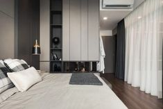 House in Pulau Pinang by Vault Design Lab « HomeAdore Master Bedroom Interior, Home Bedroom, Modern Bedroom, Bedroom Decor, Bedroom Ideas, Modern Home Interior Design, Modern House Design, Interior Ideas, Design Lab