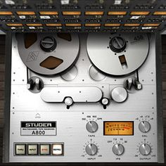 Studer® A800 Multichannel Tape Recorder Plug-In - UAD
