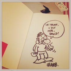 Quand Charb débattait sur l'humour, l'audace et le risque