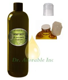 16 OZ Hemp Seed Oil Pure Organic Cold Pressed