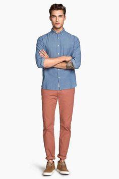 Spodnie chinos Slim fit | H&M 99,90 B100 LOOG