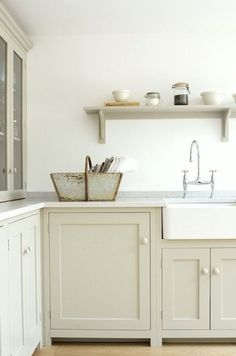 Image result for beige shaker cabinets
