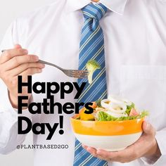 To all our Plantbased2Go dad's out there⠀⠀⠀⠀⠀⠀⠀⠀⠀ Happy Father's Day! Plant Based Nutrition, Nutrition Tips, Happy Fathers Day, Whole Food Recipes, Breakfast, Happy Valentines Day Dad, Breakfast Cafe