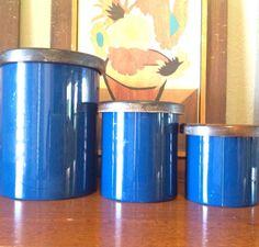 Mid Century Copco Japan Tin Kitchen Storage by TheRustedFish