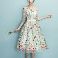 5ae2b2396b277  楽天市場 結婚式 ワンピース パーティードレス 二次会 お呼ばれドレス 花柄刺しゅう 透け