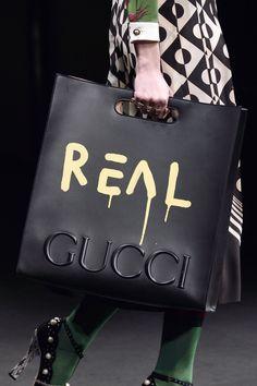 Logo bag with a sense of humor at  gucci. Fashion Details 661a59bcb8836