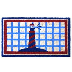 Lighthouse Doormat  at Joss and Main
