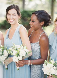 Pantone 2016: Rose Quarts + Serenity Wedding Inspiration - Style Me Pretty