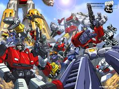 Dreamwave+Comics+ | 12 comentarios - Transformers 4