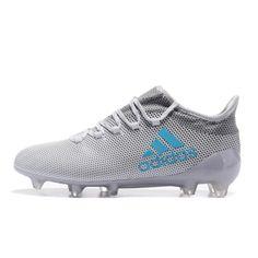 Nuovi Adidas X 17.1 Tpu Grigio Blu Scarpe Da Calcio