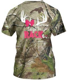 camo country girl country barbie shirt I've got the rack couples shirt