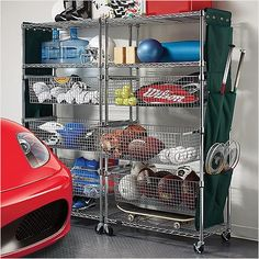 JustShelfit.com Is New York City Top Steel Shelving Racks For Storage Maker: Metal Storage Shelves For Garage Unit Solutions
