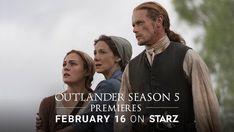 'Outlander' Season Five Premieres February 16, 2020