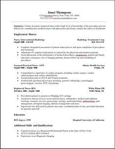 oncology nurse resume free httpwwwresumecareerinfooncology