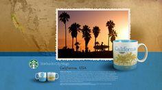 Starbucks City Mug California Desktop Wallpaper