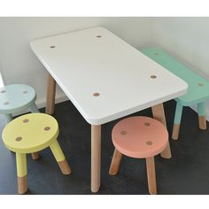 very excited to be designing a playroom around the cutest little table and chair set! stay tuned x