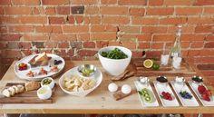 Vorspeisentablett, Servierbretter & Co. für #Tapas, #Antipasti, #Snacks, #Dips und Salate. #design3000