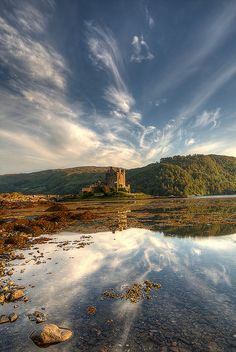 Eilean Donan Castle Dornie, Scotland.I want to go see this place one day.Please check out my website thanks. www.photopix.co.nz