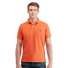 87952606 - Custom-Fit Mesh Polo Shirt. Polo ShirtsBedding CollectionsRalph  LaurenCasual WearMan ...
