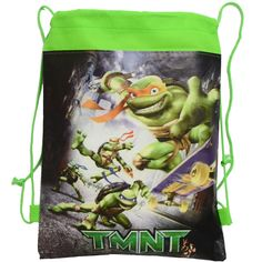 2pcslot Teenage Mutant Ninja Turtles Children School Bag Turtles Kids Drawstring Backpack& Bag For boys&girls 4 Colors Optional