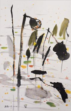 51BidLive-[A CHINESE SCROLL PAINTING, AFTER WU GUANZHONG]