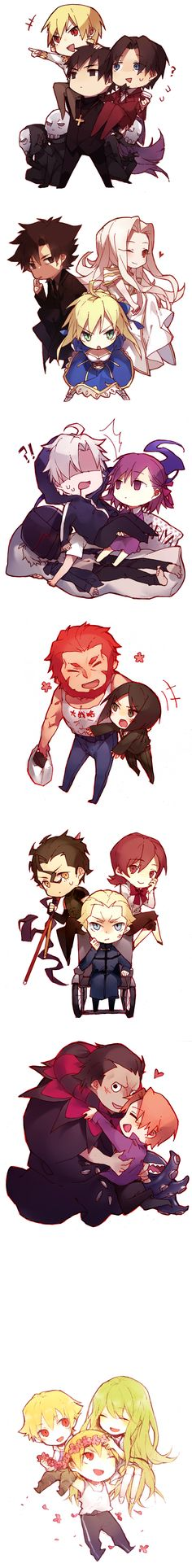 Fate/Zero, Fate/strange fake, & Fate/hollow ataraxia