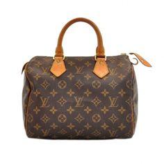 LOUIS VUITTON  SPEEDY 25 MONOGRAM Rent this designer handbag at  www.ArmGem.com bc7fd903dee65