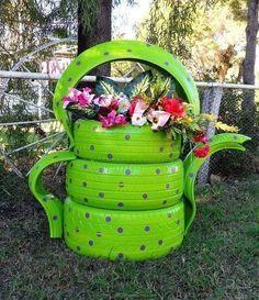 _01 (603x700, 622Kb)- Théière en pneus recyclés pour le jardin