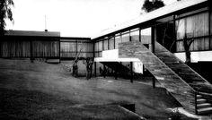 Casa en Av. de las Palmas 1954 Col. Lomas de Chapultepec. México D.F. Arq. Ricardo de Robina, Arq. Jaime Ortiz Monasterio