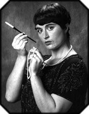 Dorothy Parker | Dorothy Parker wrote poetry, short stories, and essays, and was a founding member of the Algonquin Round Table, a group of fashionable writers and celebrities who met for lunch and drinks and whose lifestyles influenced the smart set from 1919 to 1929.