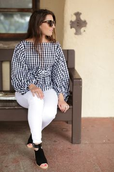 Top c/o | Jeans (order a size down!) | Shoes | Earrings, similar | Glasses | Lips in Creme Cup Happy Tuesday! (I know, back to my old habits, lol!) But, it is a … Read More →