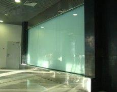 Glass Waterfall, Modern Glass, Water Features, Flat Screen, Bathtub, Indoor, Interior, Wall, Decor