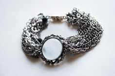 Jewelry made from antique and vintage parts.