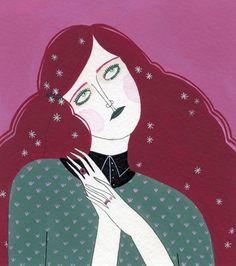 icono Cero: Los estados de animo de la soledad, ilustraciones de Yelena Bryksenkova. #ilustracion #iconocero #portrait #illustration