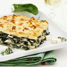 Lasagna con acelga - DietaClub