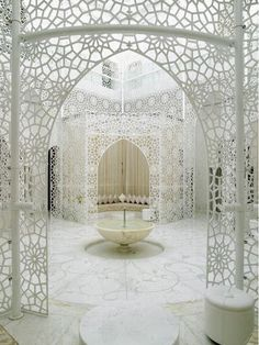 Royal Mansour hotel spa, Marrakech.