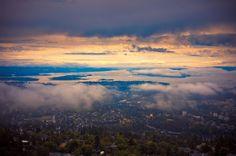 Sunset at oslofjord, Oslo, Norway by Andrey Kalashnikov on 500px