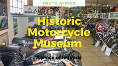 The Historic Motorcycle Museum is the only one of its kind in South Africa. It has over 100 motorbikes on show, with rare models that include: 1296 BSA models 26, 1928 Chater Lea, Des Pistorius' 1.3 million kilometer Honda Gold Wing, 1966 650cc triumph Seely MK1, 1958 125cc Maserati, 1948 Velocette LE 150 MK1, rare 350cc cross rotary valve engine, and many more. #museum #southafrica #motorcycle #motorbike Motorcycle Museum, Mk1, Africa Travel, Heritage Site, Guide Book, Rotary, Maserati, Motorbikes, Travel Guide