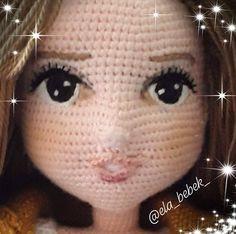 Crochet dolls 277182552054287608 - Source by Crochet Dolls Free Patterns, Crochet Doll Pattern, Amigurumi Patterns, Amigurumi Doll, Crochet Parrot, Crochet Eyes, Doll Eyes, Doll Face, Crochet Decoration