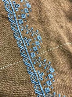 Hardanger Embroidery, Cross Stitch Embroidery, Hand Embroidery, Types Of Embroidery, Embroidery Patterns, Bargello, Satin Stitch, Embroidery Techniques, Needlework