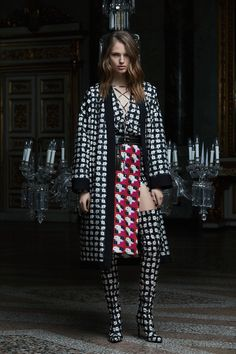 See the complete Fausto Puglisi Pre-Fall 2017 collection.
