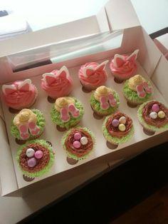 Easter cupcakes www.facebook.com/wilddaisy