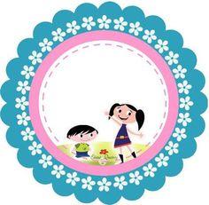 Latinhas, Toppers e Tubetes Show da Luna para Meninas