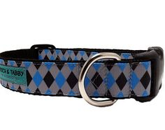 """Jester - Dog Collar   1"""" or 1.5"""" Dog Collar for Medium to Extra Large Dogs"""