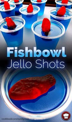 35 Best Jello Shot Recipes To Serve At Your Next Party Best Jello Shot Recipes – Fishbowl Jello Shots – Easy Jello Shots Recipe Ideas with Vodka, Strawberry, Tequila, Rum, Jolly Rancher and Creative Alcohol – Unique and Fun Drinks for Parties like Whiskey Best Jello Shots, Making Jello Shots, Jello Pudding Shots, Summer Jello Shots, Alcohol Jello Shots, Luau Jello Shots, Birthday Jello Shots, Fireball Jello Shots, Shot Ideas Alcohol